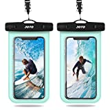 JOTO Waterproof Phone Pouch, IPX8 Universal Waterproof Case Underwater Cellphone Dry Bag