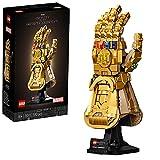 LEGO Super Heroes Marvel Guanto dell'Infinito di Thanos, Modello da Costruzione Avengers da Collezione, Regalo per Adulti, 76191