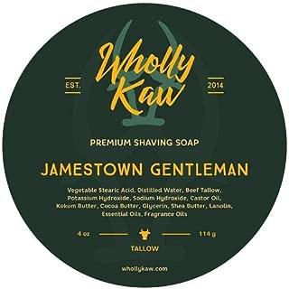 Wholly Kaw Donkey Milk Shaving Soap, Jamestown Gentleman