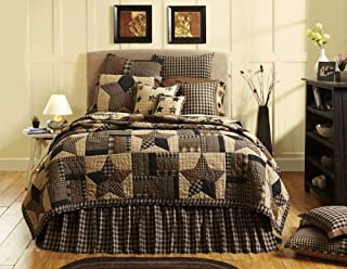 VHC Brands Bingham Star 9374 Quilt, Queen