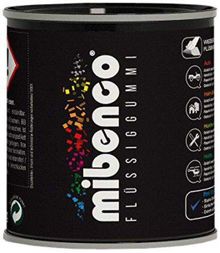 mibenco 72827011 Flüssiggummi Pur, 175 g, Eisengrau Matt - Schutz und Isolation zum Tauchen und Pinseln