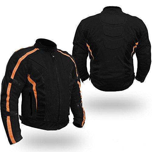Australian Bikers Gear chaqueta Chicane Cordura ligera