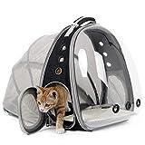 Ampliable Portador Del Gato Mochila, Cápsula Espacial Burbuja Portador Del Gato Para El Pequeño Perro, Mascotas Yendo De Excursión El Morral Que Acampa