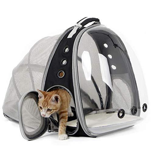 Espandibile Cat Zaino Carrier, Capsula Spaziale Bubble Elemento Portante Del Gatto Per Il Piccolo Cane, Animale Domestico Escursionismo Viaggio Zaino Di Campeggio