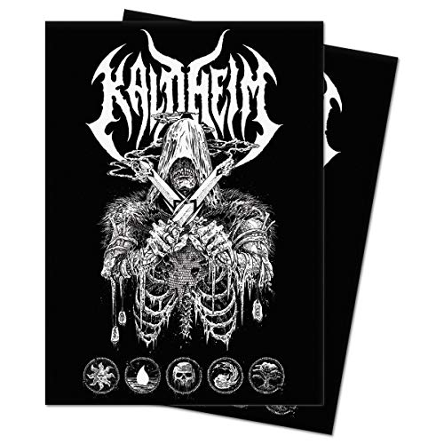 Kaldheim 100ct Sleeves Featuring Metal Alt Art for Magic: The Gathering