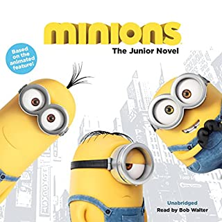 Minions: The Junior Novel audiobook cover art