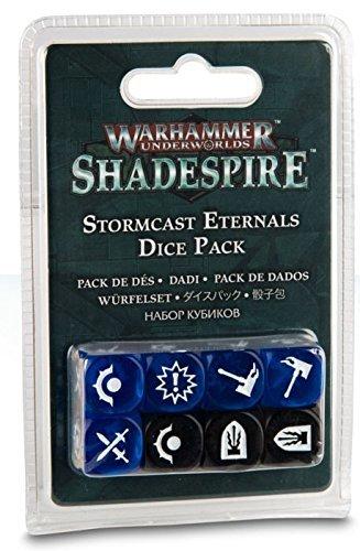 Games Workshop Warhammer Shadespire Stormcast Eternals Dice Pack