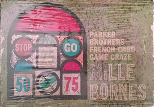 Mille Bornes Parker Brothers French Card Game Craze