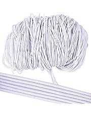 BUONDAC 1 mm 40 m elastisch parelsnoer rond draad elastisch snoer Beading koord rubber koord voor DIY sieraden knutselen parels ambachtelijke armband