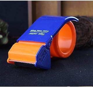 テープディスペンサースコッチテープカッターシーリングデバイステープストリップペーパープラスチックラージサイズワイドパッキングラッククリップ