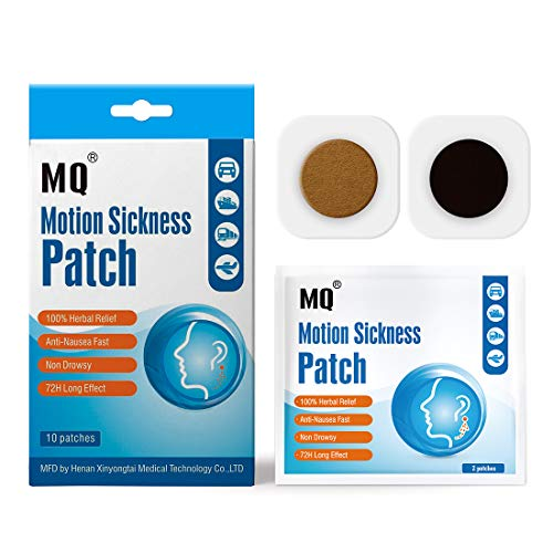 MQ Motion Sickness Patch,10 Count