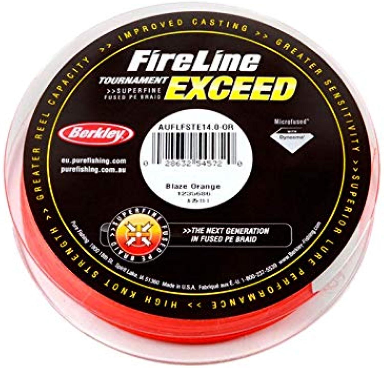 Berkley Fireline Exceed Blaze orange Braid 300m 6kg
