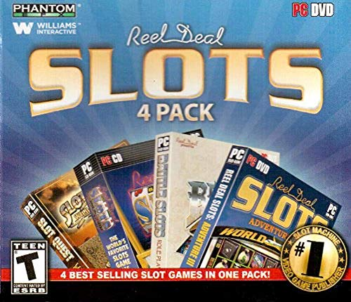 Real Deal Slots 4 Pack