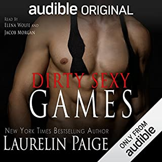 Dirty Sexy Games audiobook cover art
