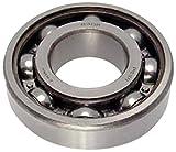 Peer Bearing 6204-C3 6200 Series Radial Bearings, Open, C3 Fit, 20 mm ID, 47 mm OD, 14 mm Width