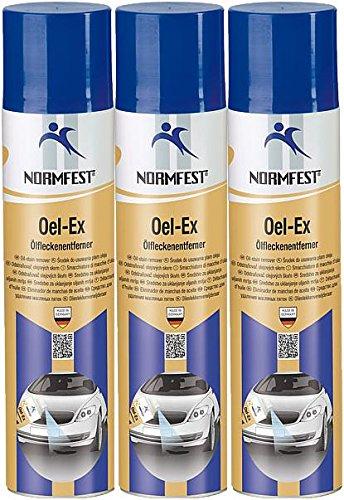 Normfest Öl-EX Ölfleckenentferner Spray Bodenreiniger 3 Dosen 400ML