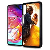 for Samsung Galaxy A50, Durable Protective Soft Back Case Phone Cover - A11137 Beauty Beast