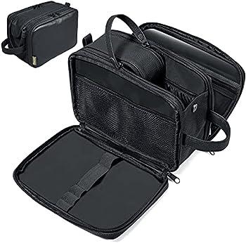 BALEINE PU Leather Dopp Kit Travel Toiletries Bags