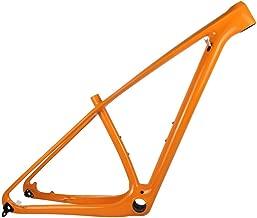 SmileTeam T1000 Carbon Orange MTB Frame 29er MTB Carbon Frame 29 Carbon Mountain Bike Frame 142x12 or 135x9mm Bicycle Frame