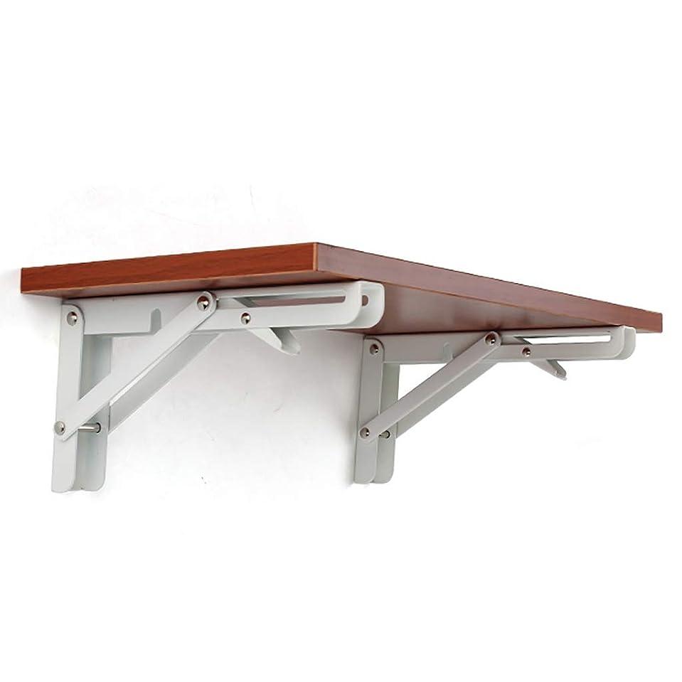 かご古代不正頑丈な折りたたみ式テーブル、木製の折りたたみ式テーブル、安定した頑丈な、折りたたみ式ウォールテーブル、小さなカウンタースペース、設置が簡単 (サイズ : 30cm×60cm)