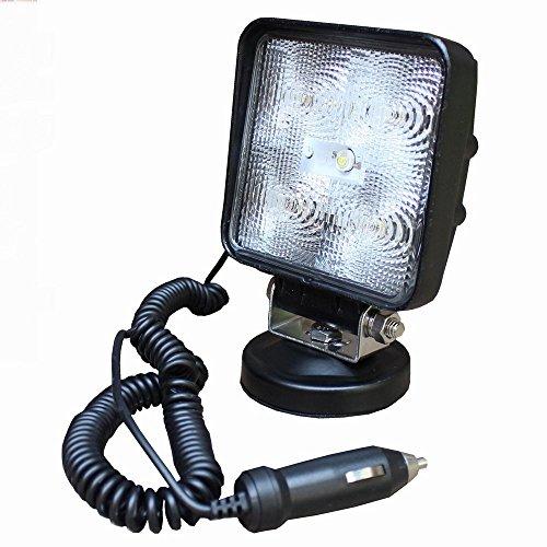 SAILUN 15W LED Arbeitsscheinwerfer Zusatzscheinwerfer Arbeitslicht Offroad Flutlicht Rückfahrscheinwerfer Reflektor Scheinwerfer 12V 24V mit Magnetfuß für SUV, UTV, ATV
