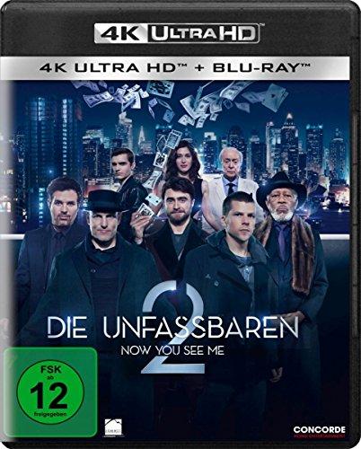 Die Unfassbaren 2 - Now You See Me (4K Ultra HD) (+ Blu-ray)