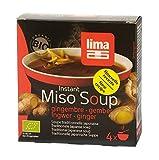 Sopa Miso Instantánea de Jengibre Lima 60g