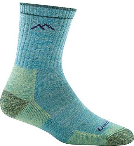 DARN TOUGH (Style 1903) Women's Hiker Hike/Trek Sock - Aqua, Small