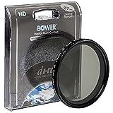 Bower 67mm Variable Neutral Density Filter NDフィルター ND値 2−8(透過率50% - 12.5%)