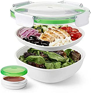 OXO 11139700 Good Grips Leakproof On-The-Go Salad Container,Green