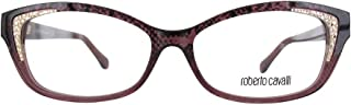 Roberto Cavalli RC5034 - 083 Eyeglass Frame Purple w/ Clear Demo Lens 54mm
