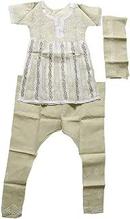 Indian Ethnic Wear for Kids - Anarkali Salwar Kameez for Small Girls- [sku101381]