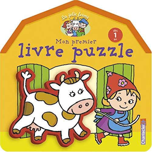 La jolie ferme : Mon premier livre puzzle