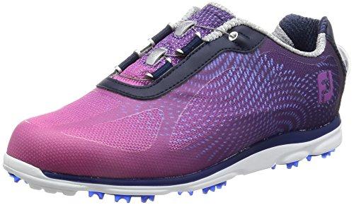 FootJoy Women's Empower BOA Golf Shoes, Navy/Plum, Close-Out 98004 (6.5 C/D US)