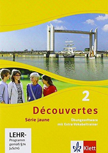 Découvertes 2. Série jaune: Übungssoftware mit Vokabeltrainer, Einzellizenz 2. Lernjahr: Série jaune (ab Klasse 6) (Découvertes. Série jaune (ab Klasse 6). Ausgabe ab 2012)