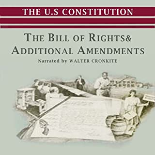 The Bill of Rights and Additional Amendments audiobook cover art
