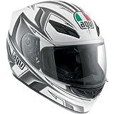 AGV K4 EVO Arrow Helmet , Distinct Name: Arrow Gunmetal, Gender: Mens/Unisex, Helmet Category: Street, Helmet Type: Full-face Helmets, Primary Color: Gray, Size: Md 0031O2C008007