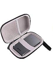 収納ケース用の BUFFALO 外付SSD 1920GB 960GB 480GB 対応 専用保護 キャリングケース-WERJIA.JP (黒)