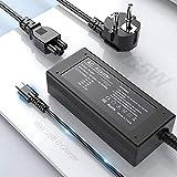 65W USB C Netzteil Ladegerät Type C PD Laptop Netzteil Ladekabel für Lenovo ThinkPad, Mac Book Pro, Samsung, ASUS, Dell, Chromebook, Yoga, Acer, HP, Huawei Typ C Charger AC Adapter Ladegerät