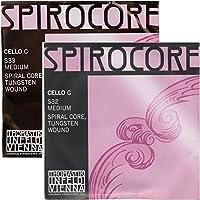 SPIROCORE スピロコア チェロ弦GC線タングステン セット