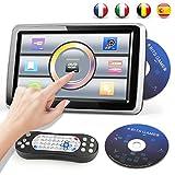 Reproductor de DVD Portátil para Coche 10.1'' Reposacabezas del Coche...