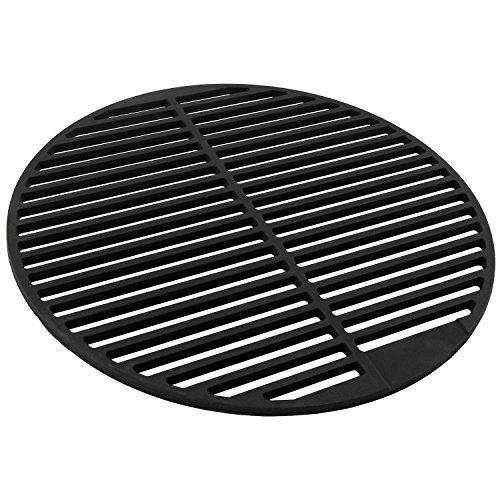 BBQ-TORO Gusseisen Grillrost, massiv und emailliert, rund, verschiedene Größen zur Auswahl, für Holzkohlegrill, Gasgrill und mehr (Ø 54.5 cm)