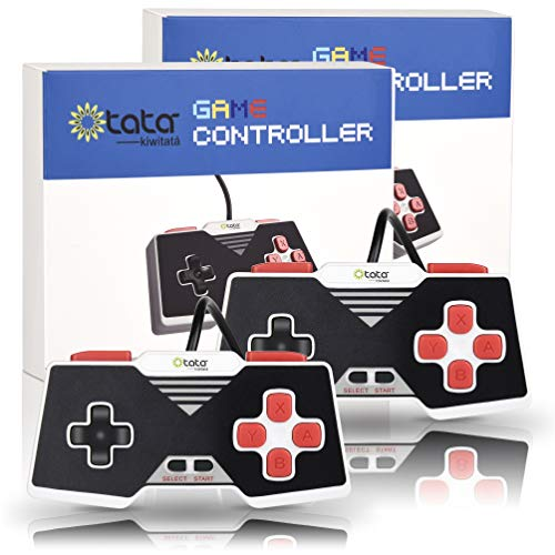 2 Pack Classic USB Controller for Retro NES Gaming,...