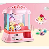 Mini Claw Machine for Kids, Arcade Games Toy Doll Grabber Machine with Plush