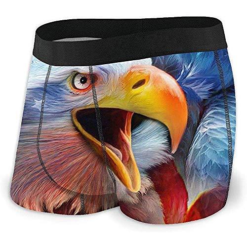 Nancyint Herren Boxershorts American Eagle Herrenwäsche Atmungsaktiv Komfortabel Sport XXL