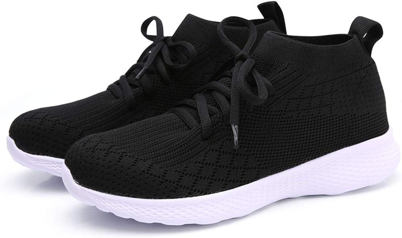 HZZU Women's Athletic Walking Sneakers Lightweigh Casual Mesh Comfortable Walk shoes