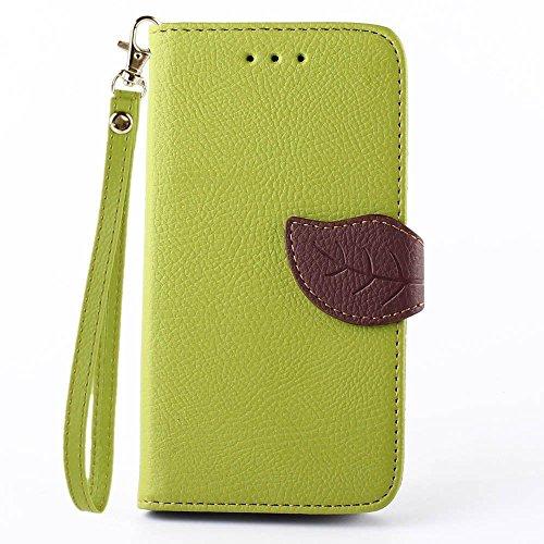 (10#) PU Leder Wallet Case Folio Schutzhülle für Nokia Lumia 730 / 735 Tasche Hülle Handytasche Etui Schale Backcover Flip Cover im Bookstyle mit Standfunktion Kredit Kartenfächer