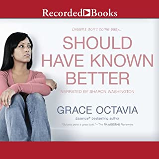 Should Have Known Better audiobook cover art