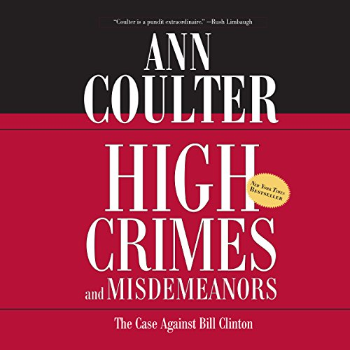 High Crimes and Misdemeanors audiobook cover art