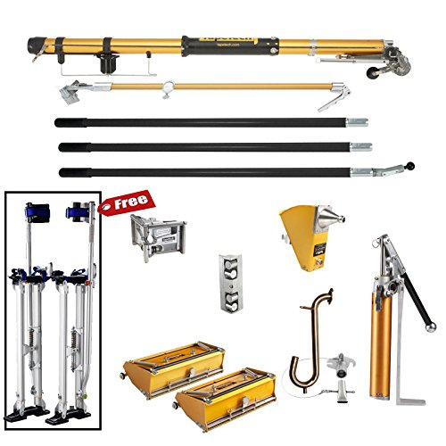 TapeTech Full Set of Drywall Tools with Stilts
